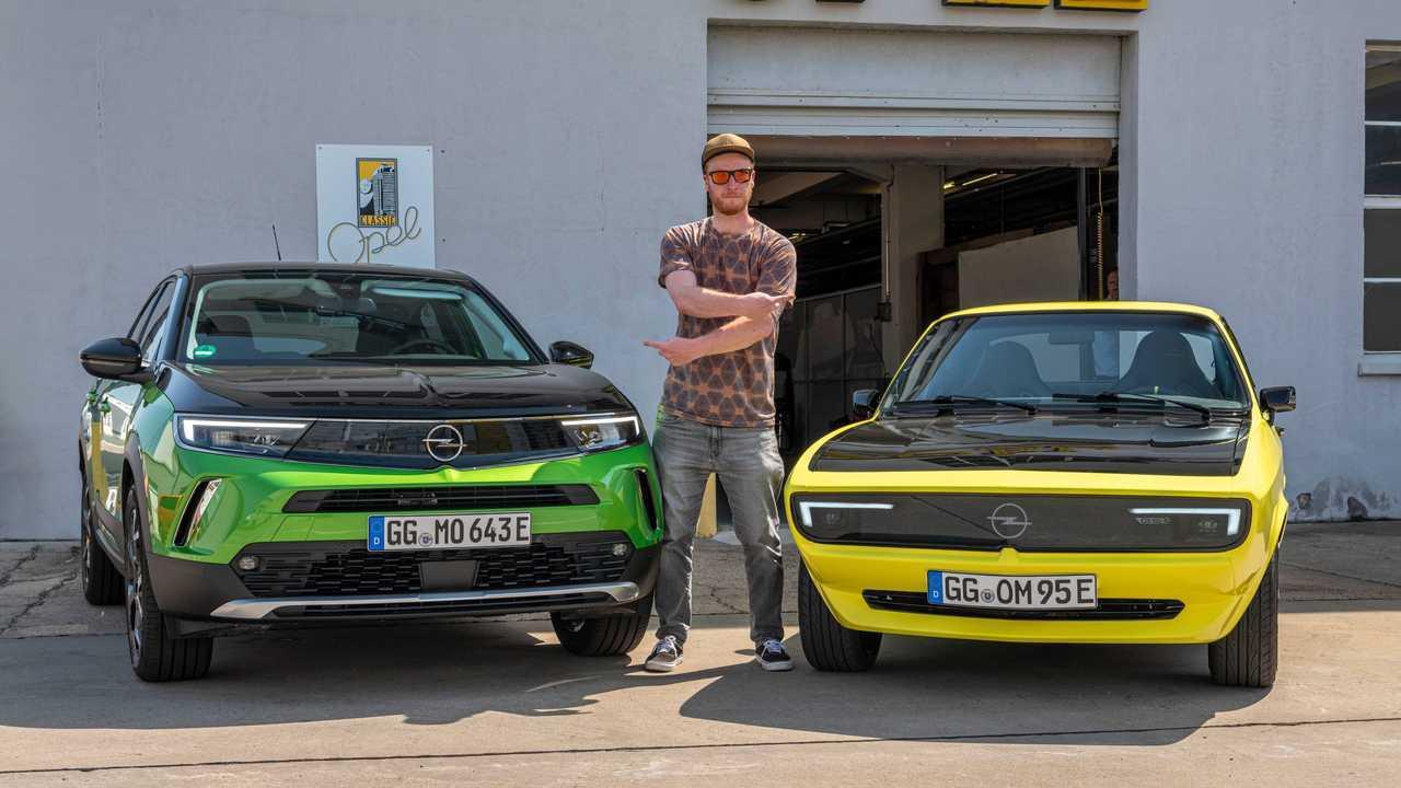Opel Manta GSe ElektroMod (2021) in esame