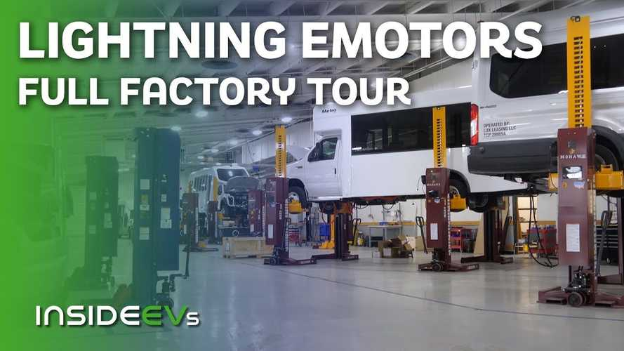 InsideEVs Exclusive Tour Of Lightning eMotors Medium-Duty EV Factory