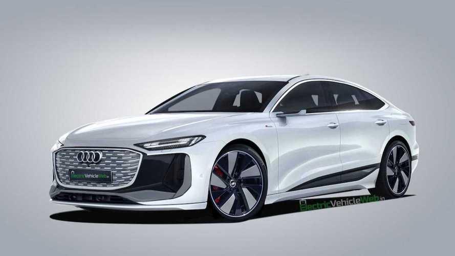 Así podría ser el Audi A6 e-tron de producción