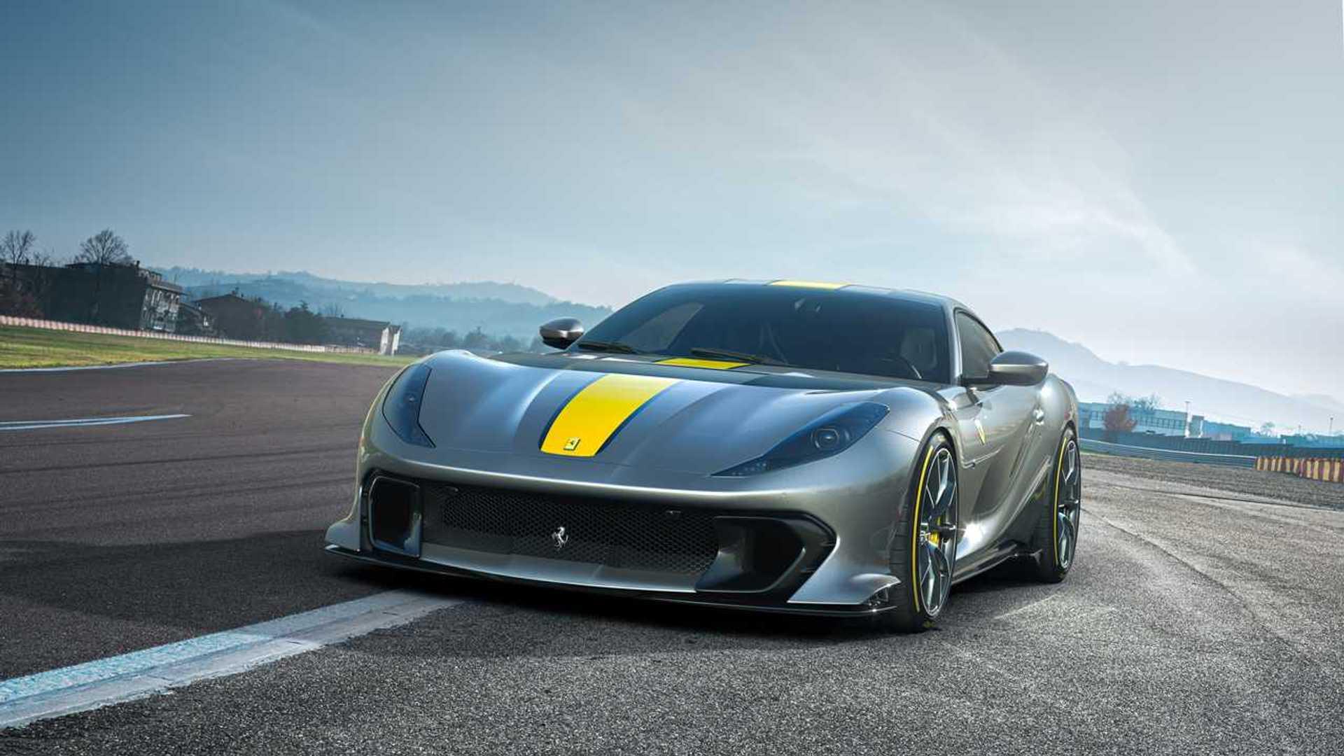 Ferrari 812 Superfastスペシャルバージョン