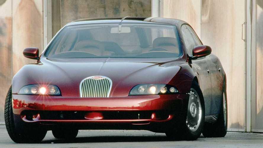 Concept oublié - Bugatti EB112 (1993)