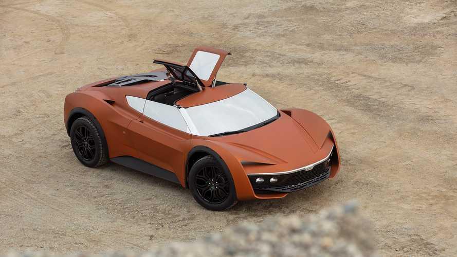 GFG Style Vision 2030 Desert Raid, la supercar per la sabbia
