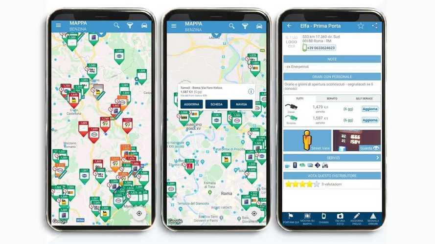 Prezzi Benzina, l'app per trovare i distributori più economici