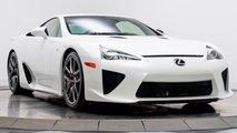 Paris Hilton Lexus LFA for sale
