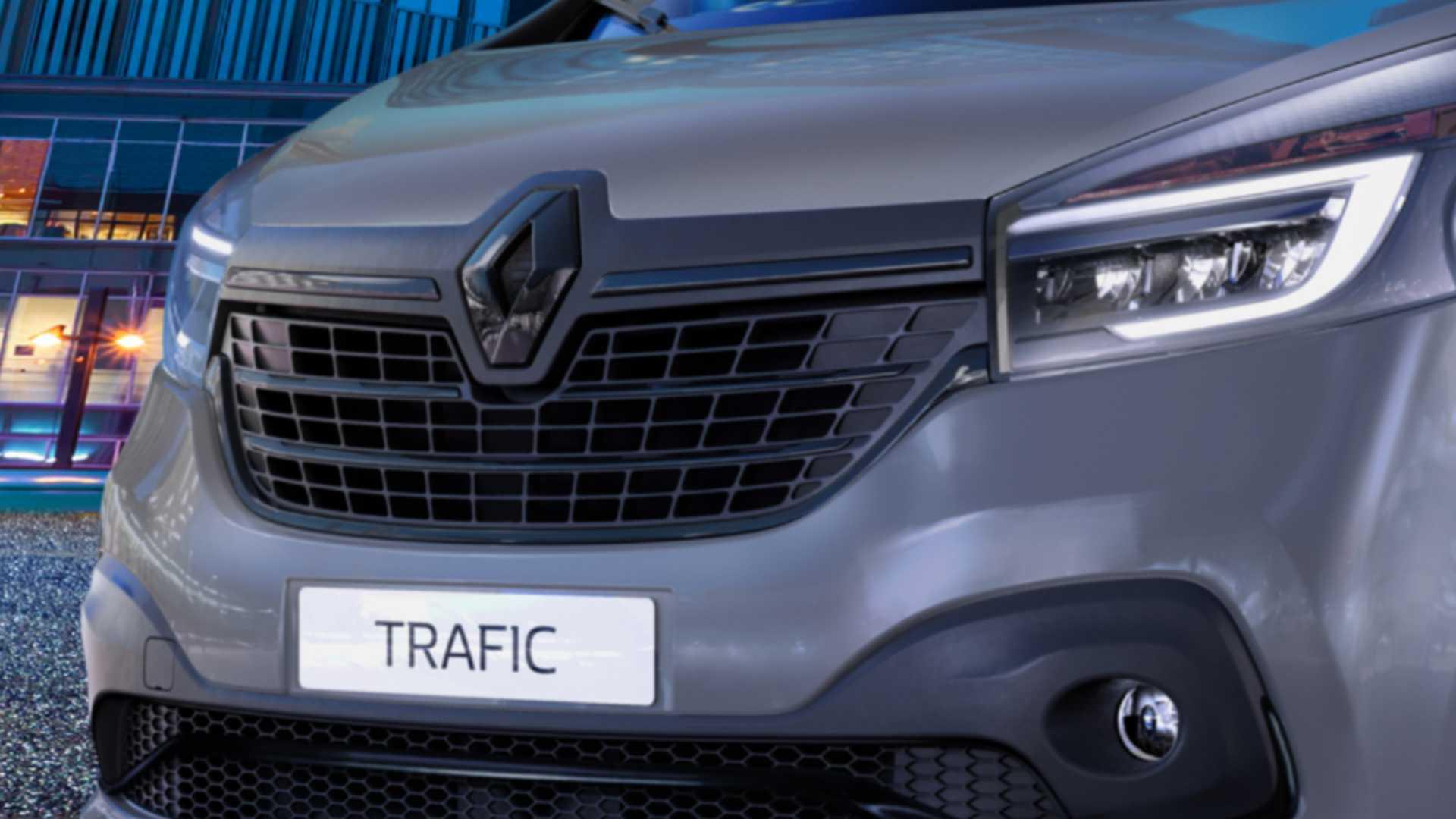 Renault Adds New 28k Black Edition To Trafic Van Line Up