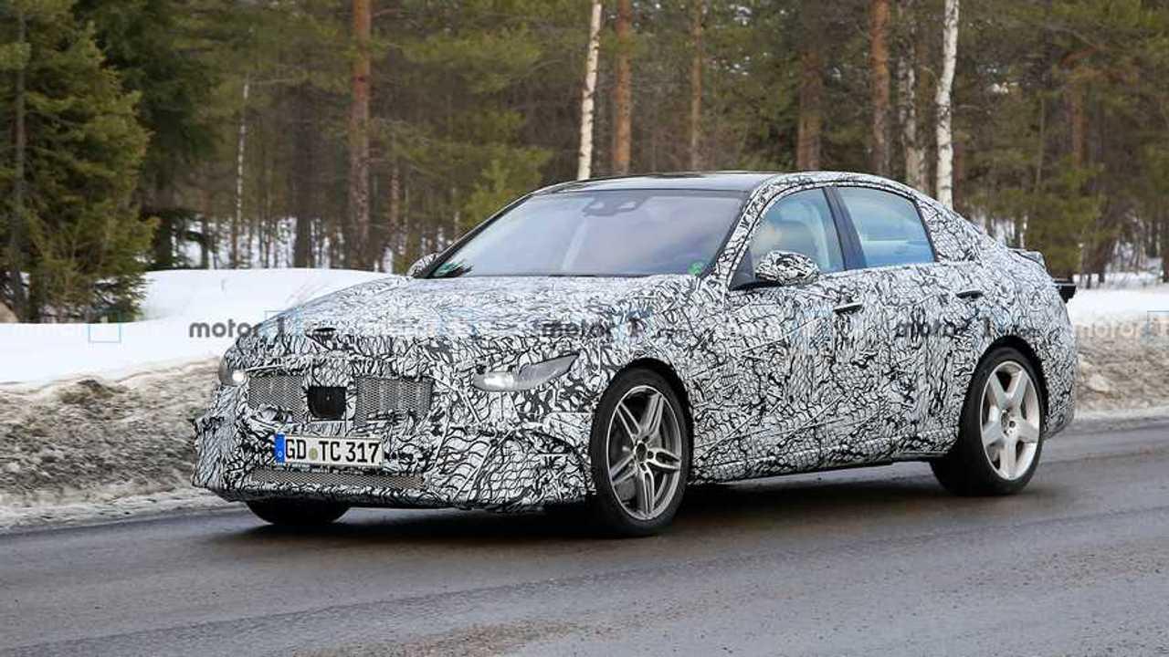Mercedes-AMG C53 Spy Photo