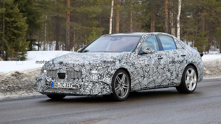 Mercedes-AMG C53 Spied Hiding Panamericana Grille, Four-Cylinder Power
