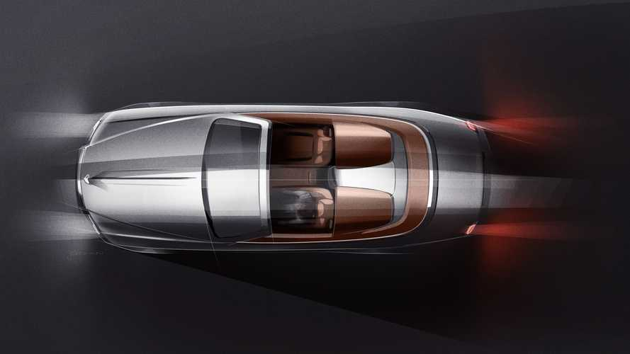 Rolls-Royce Dawn Silver Bullet teased as opulent two-seater