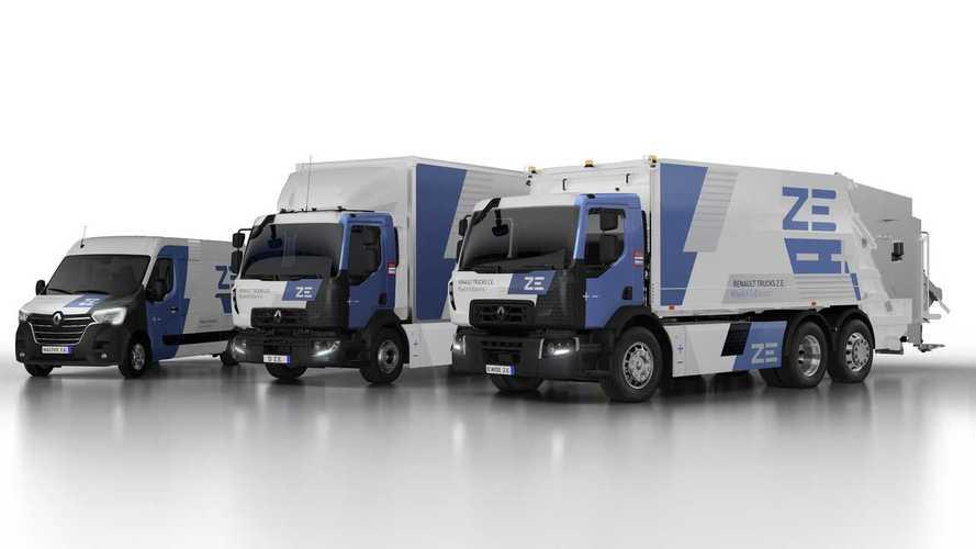 Elstartolt a Renault elektromos teherautójának sorozatgyártása