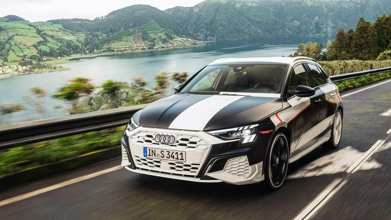 2020 Audi S3 Sportback prototipi ilk sürüş