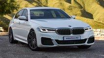 2021 BMW 5 Series new renderings