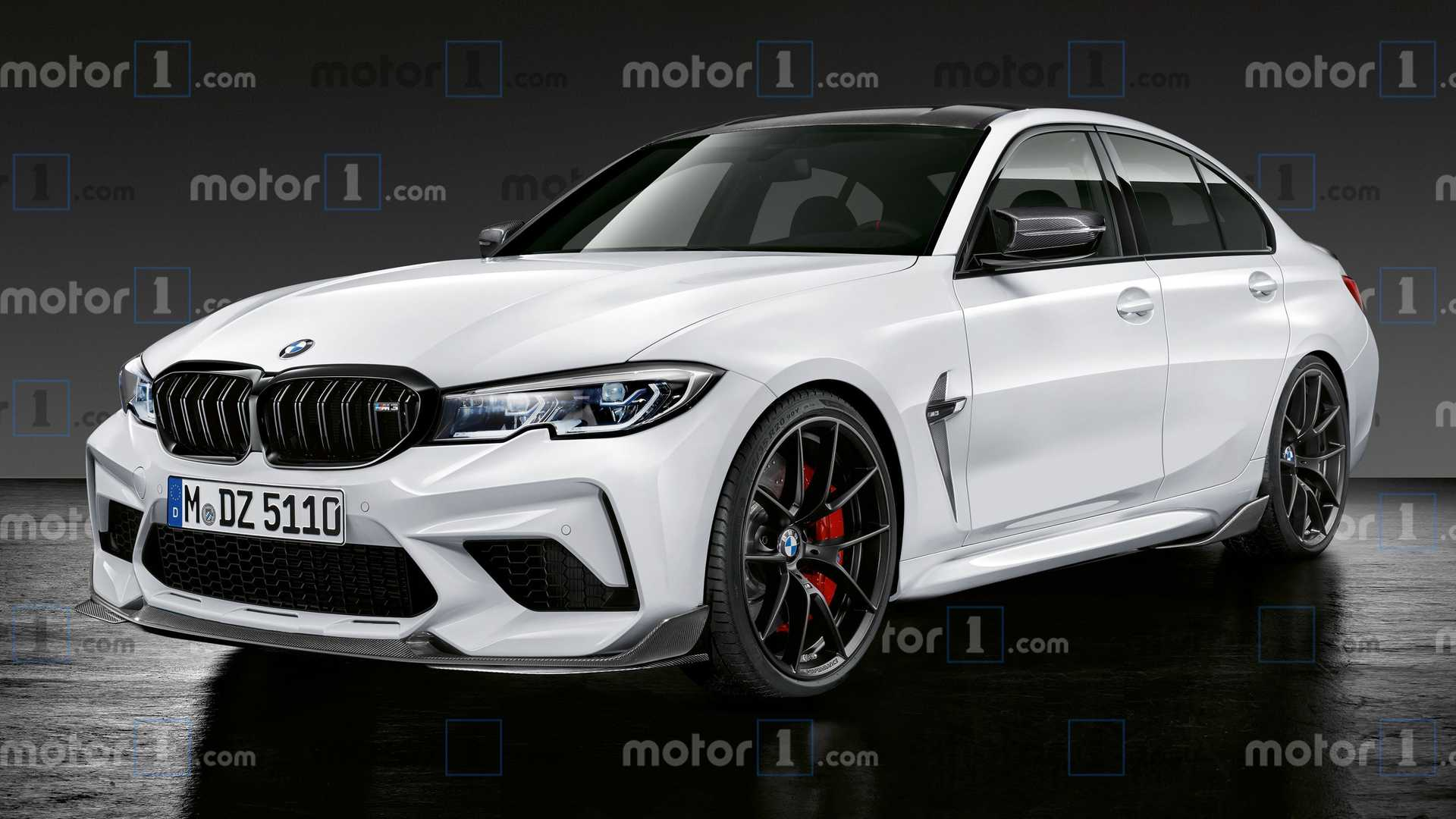 2021 BMW M3 Rendering Imagines A Calmer, Friendlier Monster Sedan