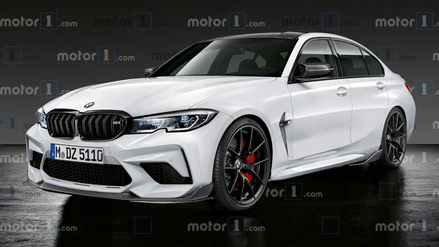 2021 BMW M3 rendering imagines a calmer, friendlier monster saloon