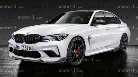 2021 BMW M3 rendering imagines a calmer, friendlier monster saloon