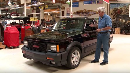 Jay leno gives a tour of his 1991 gmc syclone pickup truck