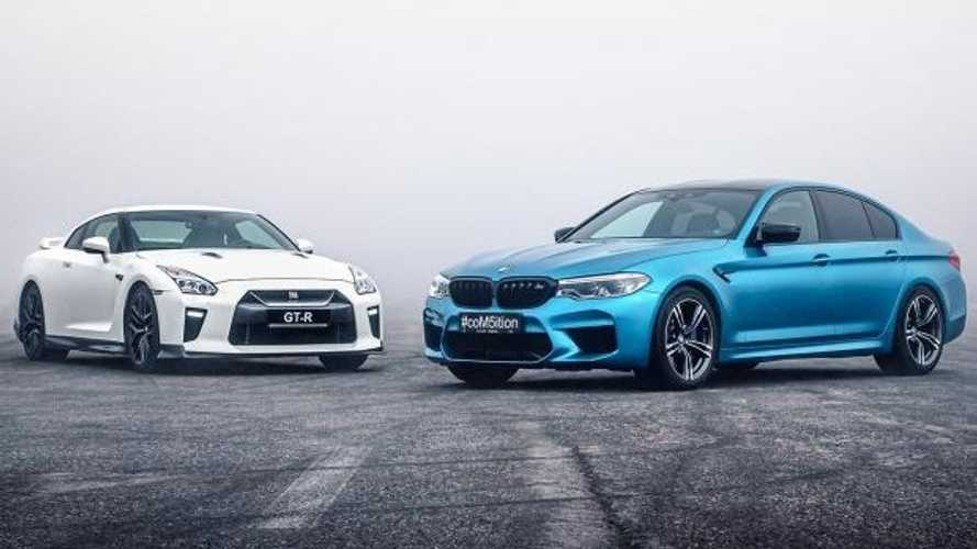 BMW M5 Competition races Nissan GT-R for drag supremacy