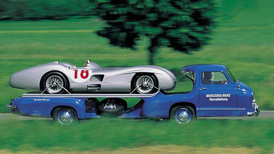 Portento Blu, la bisarca Mercedes da 170 km/h