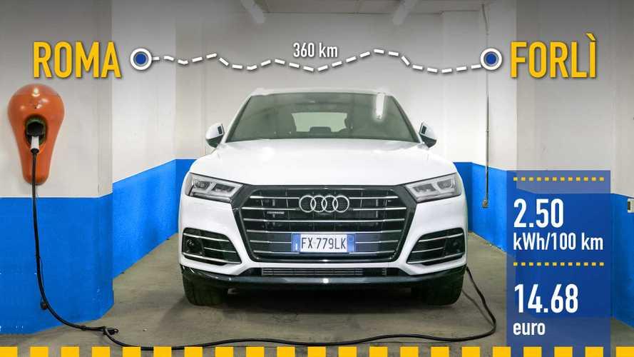 Экономичен ли на самом деле гибридный Audi Q5?