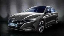 Next-gen Hyundai Elantra rendering