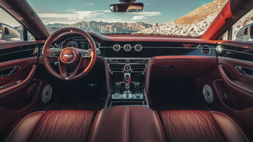 Bentley Flying Spur 2020: el interior más complejo de la marca inglesa