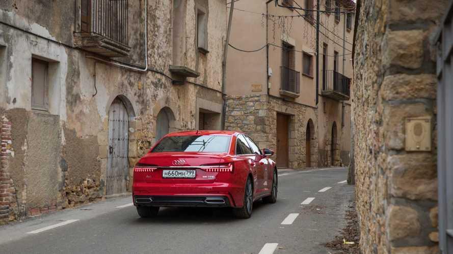 Свежие Audi рискуют заблудиться в России после ДТП