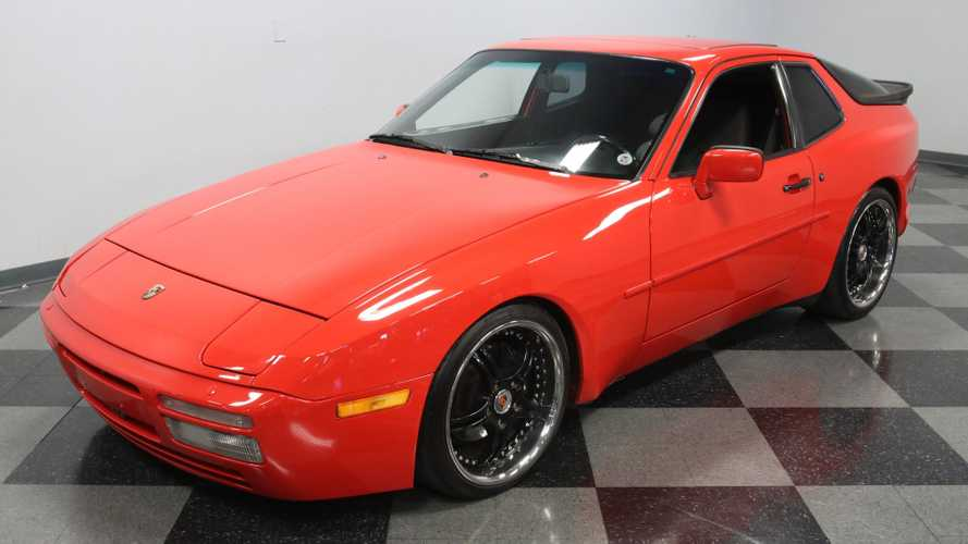 An LT1 V8 Breathes Inside This 1988 Porsche 944