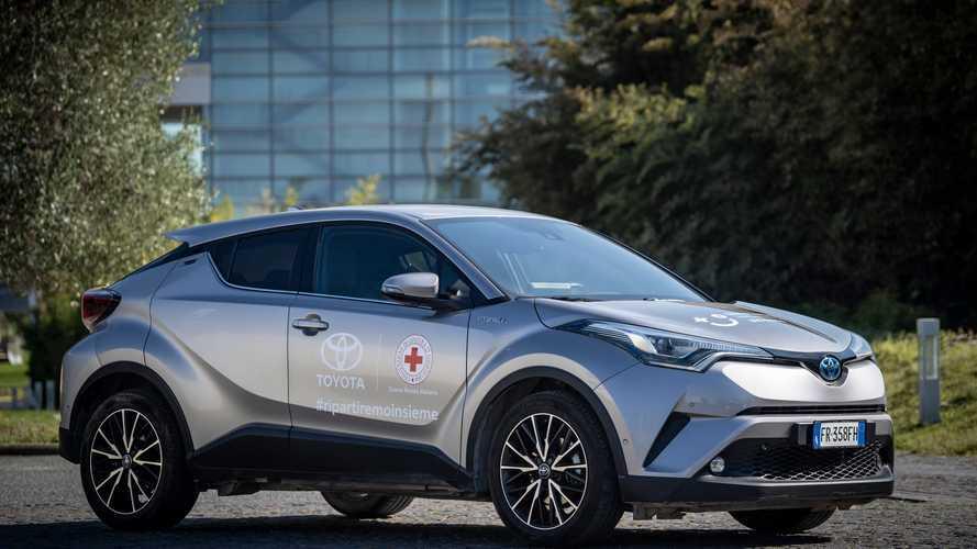 Toyota e Lexus insieme alla Croce Rossa Italiana