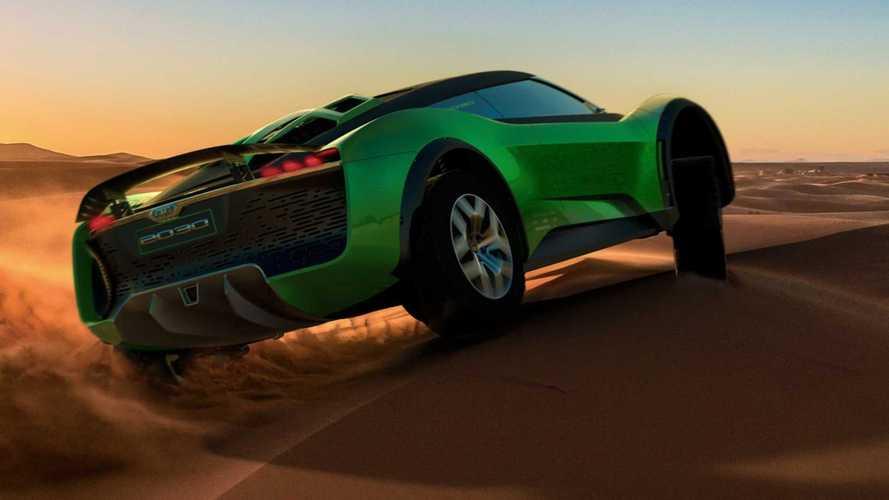 Un SUV sportivo ed elettrico per il deserto, ecco la GFG Style 2030