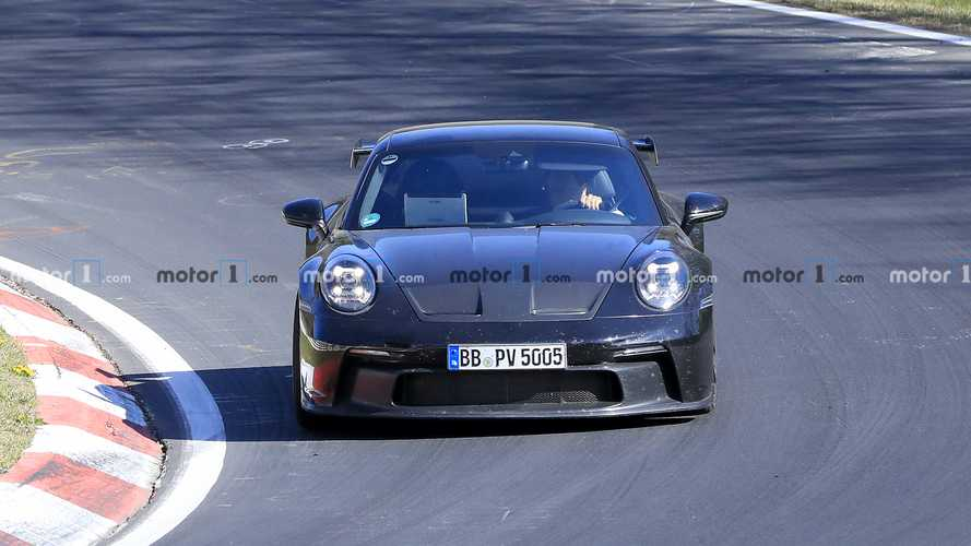 Porsche 911 GT3 Spy Photos