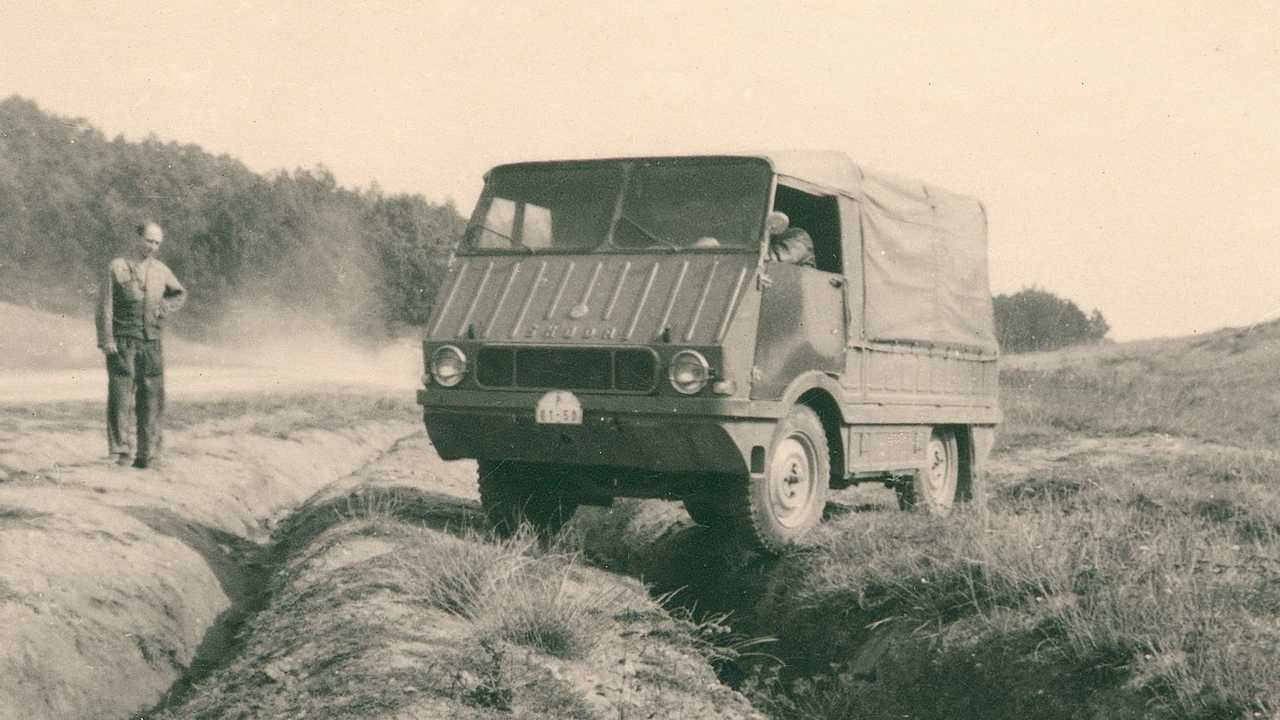 Skoda Type 998 Agromobil (1962)