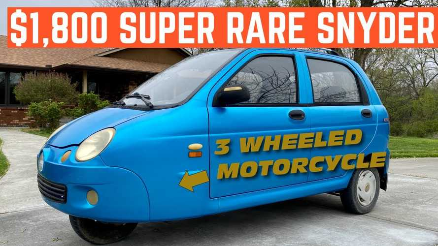 This Three-Wheeled Car Is A Terrible Motorcycle