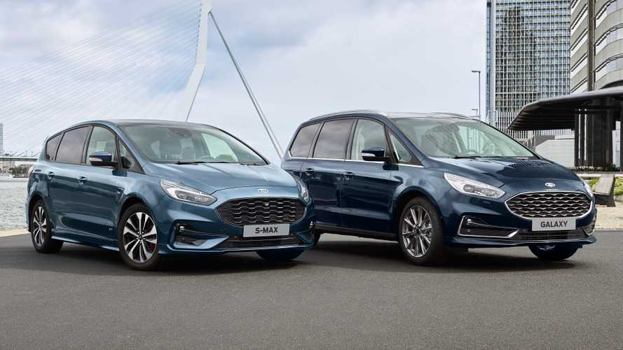 Ford Galaxy and S-MAX MPVs to live on in Europe, will go hybrid