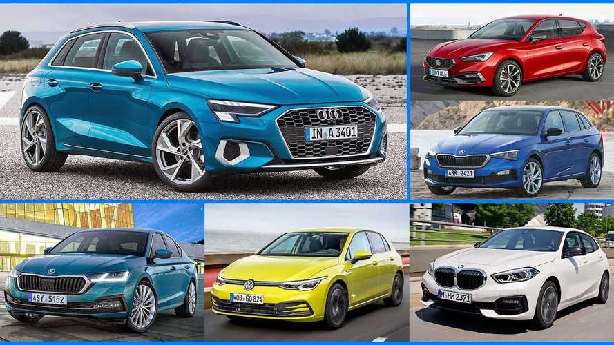 Kompaktwagen 2020/2021: Übersicht über die gesamte Golf-Klasse