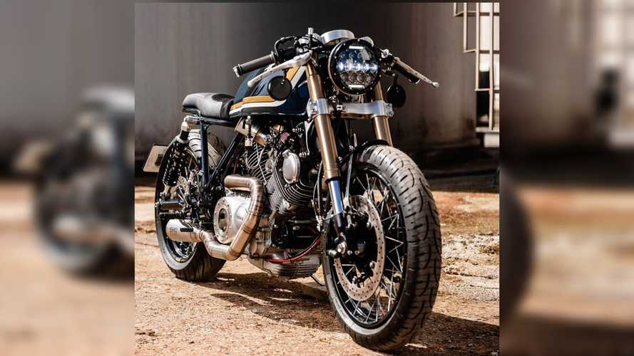 There's Magic In This Custom Yamaha Virago From Voodoo Garage