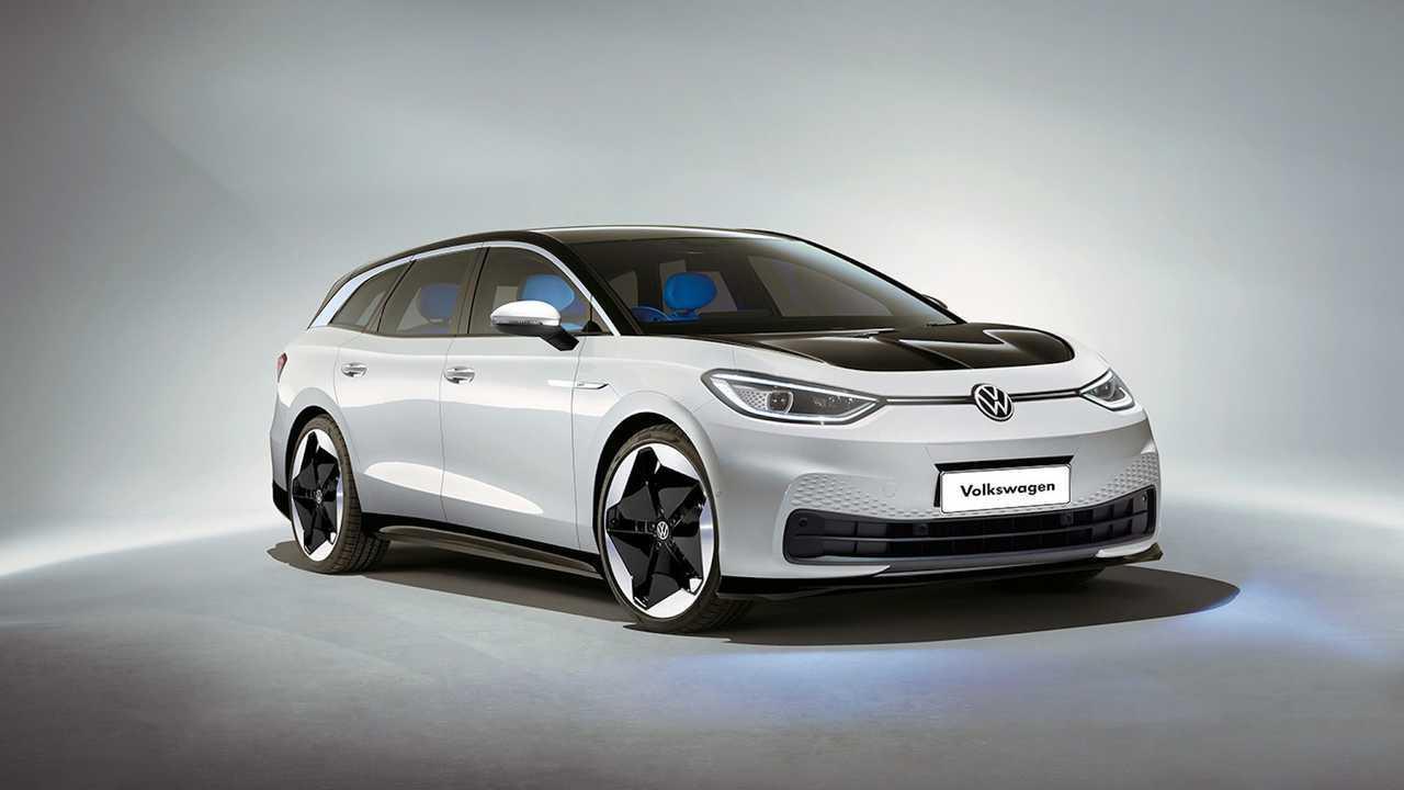 VW ID.3 Wagon Rendering By Kleber Silva