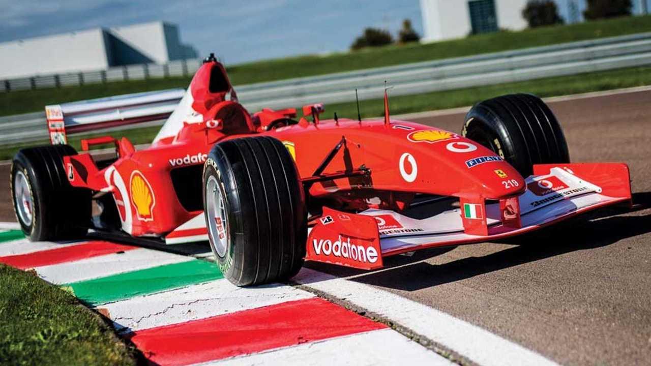 2002 Ferrari F2002 ($6,643,750)