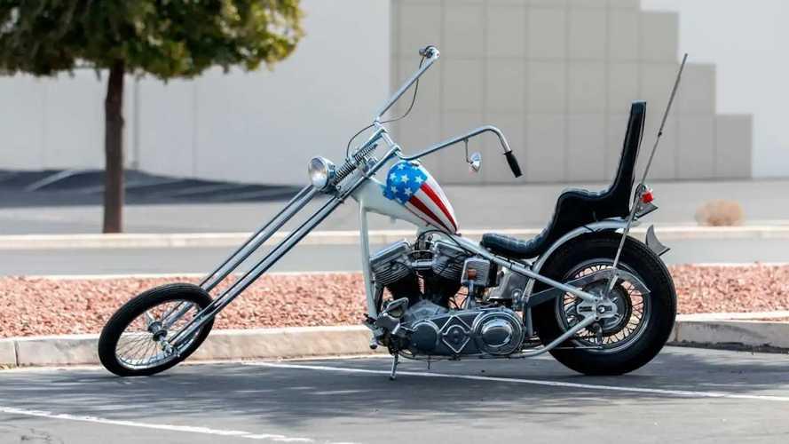 1963 Harley-Davidson Captain America Replica