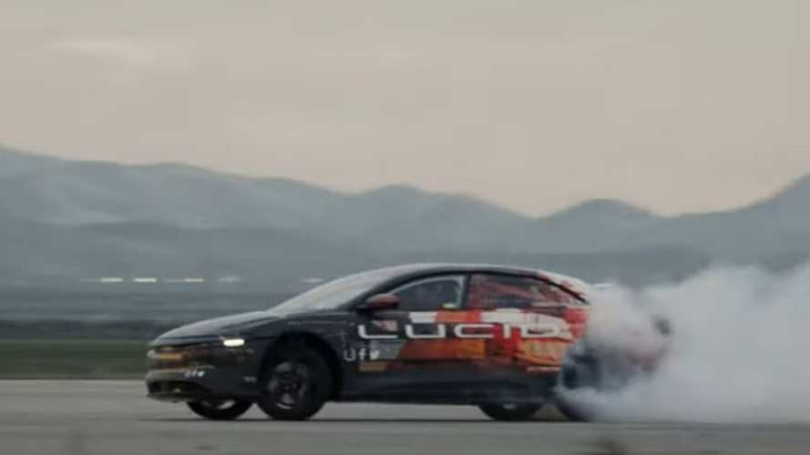 Lucid Motors Releases 'Epic Testing' Video Of Air