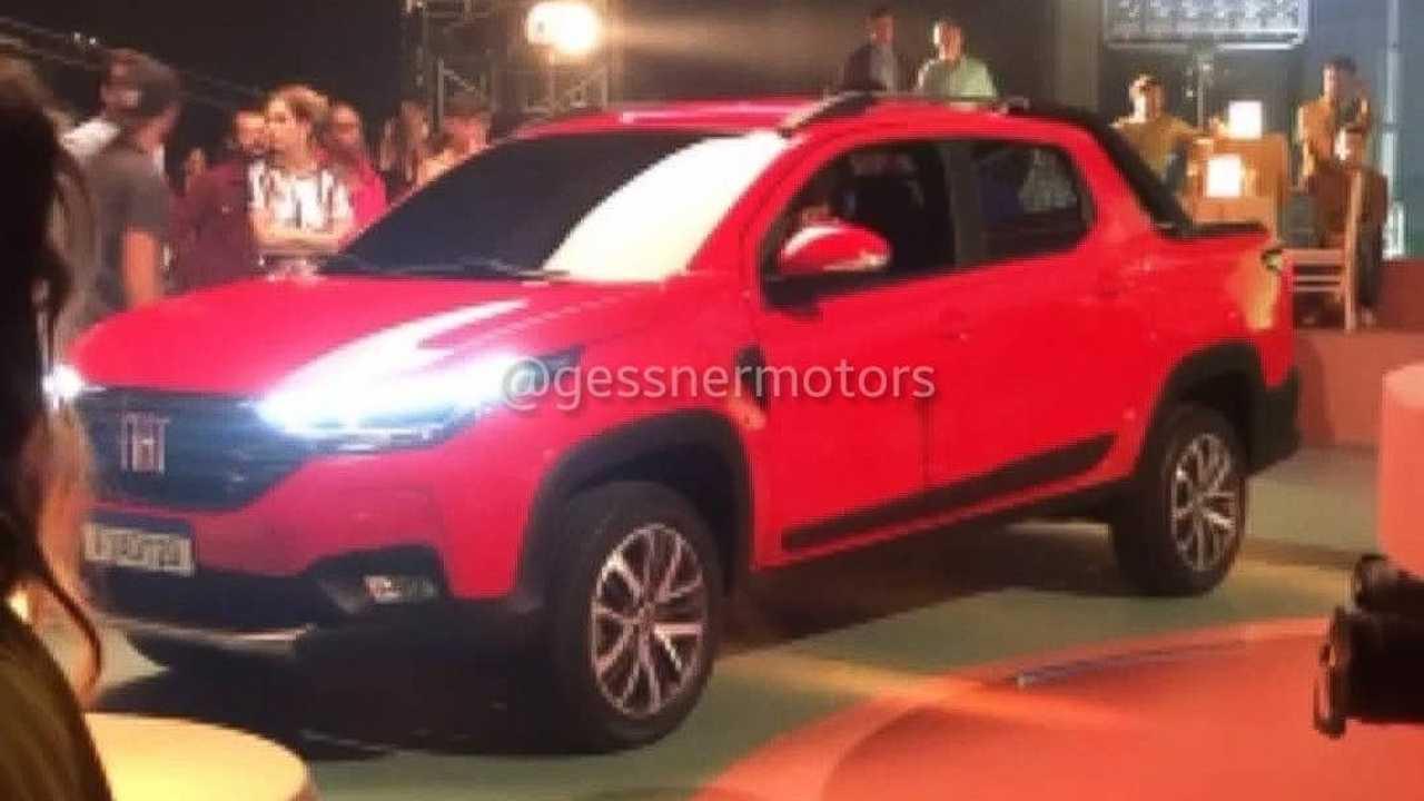 Picape da Fiat | Strada 2021 aparece sem camuflagem antes do lançamento