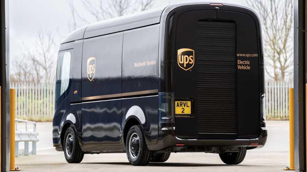 Arrival EV Van per UPS