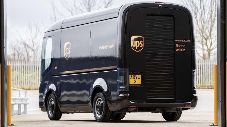 UPS e Arrival faranno assieme 10.000 furgoni elettrici