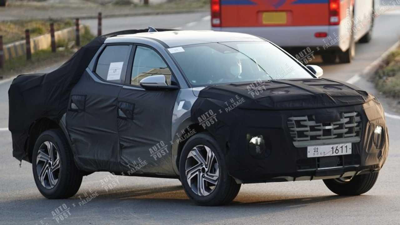 Hyundai Santa Cruz - Novos flagras na Coreia do Sul