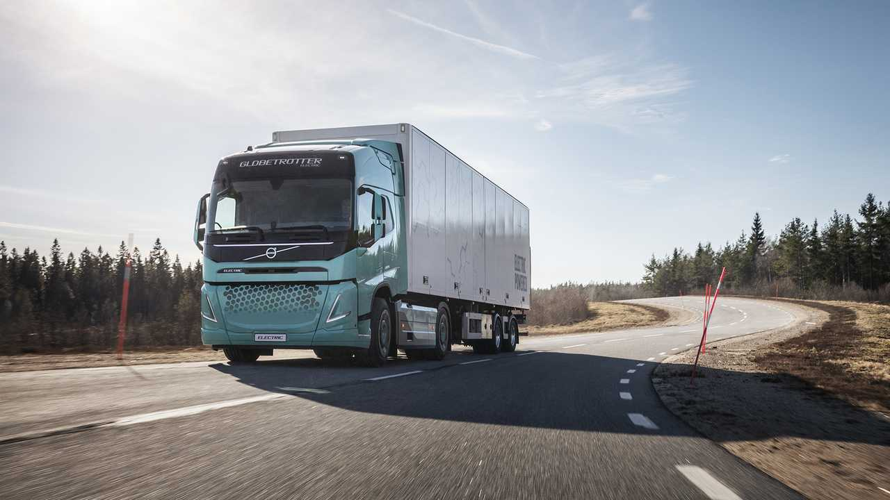 Volvo Trucks Regional Electric Prototype Truck