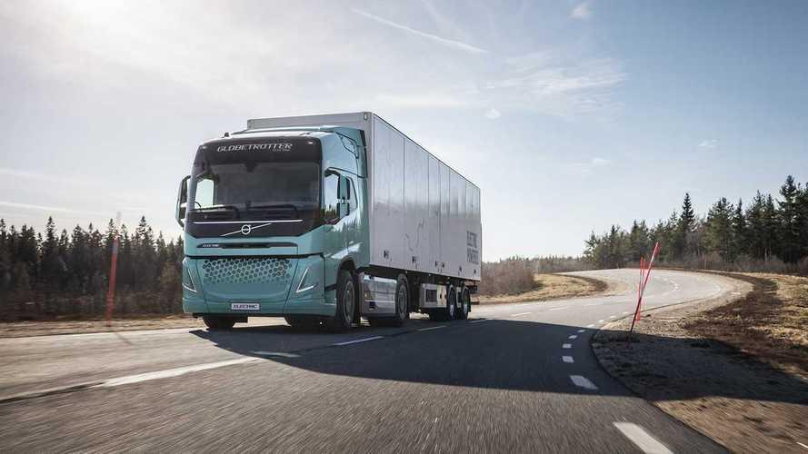 Jelentős kedvezményeket kaphatnak itthon az elektromos kamionok
