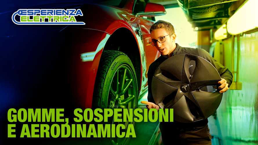 Gomme nuove, aerodinamica e lo schema sospensivo simile alla Giulia