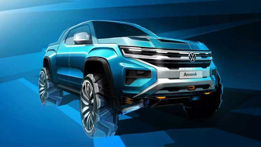 El nuevo Volkswagen Amarok, desarrollado junto a Ford, llegará en 2022