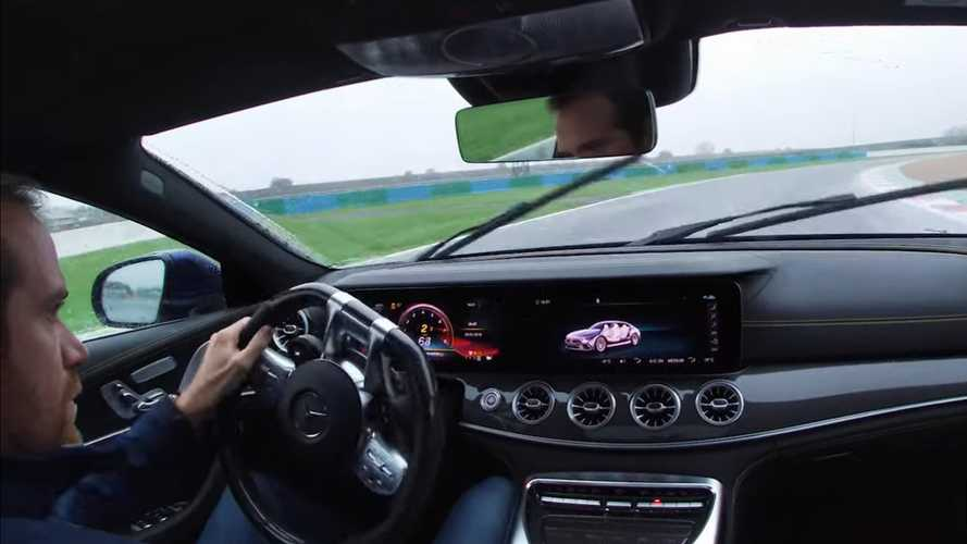 Watch the Mercedes-AMG GT 63 S dance in the rain