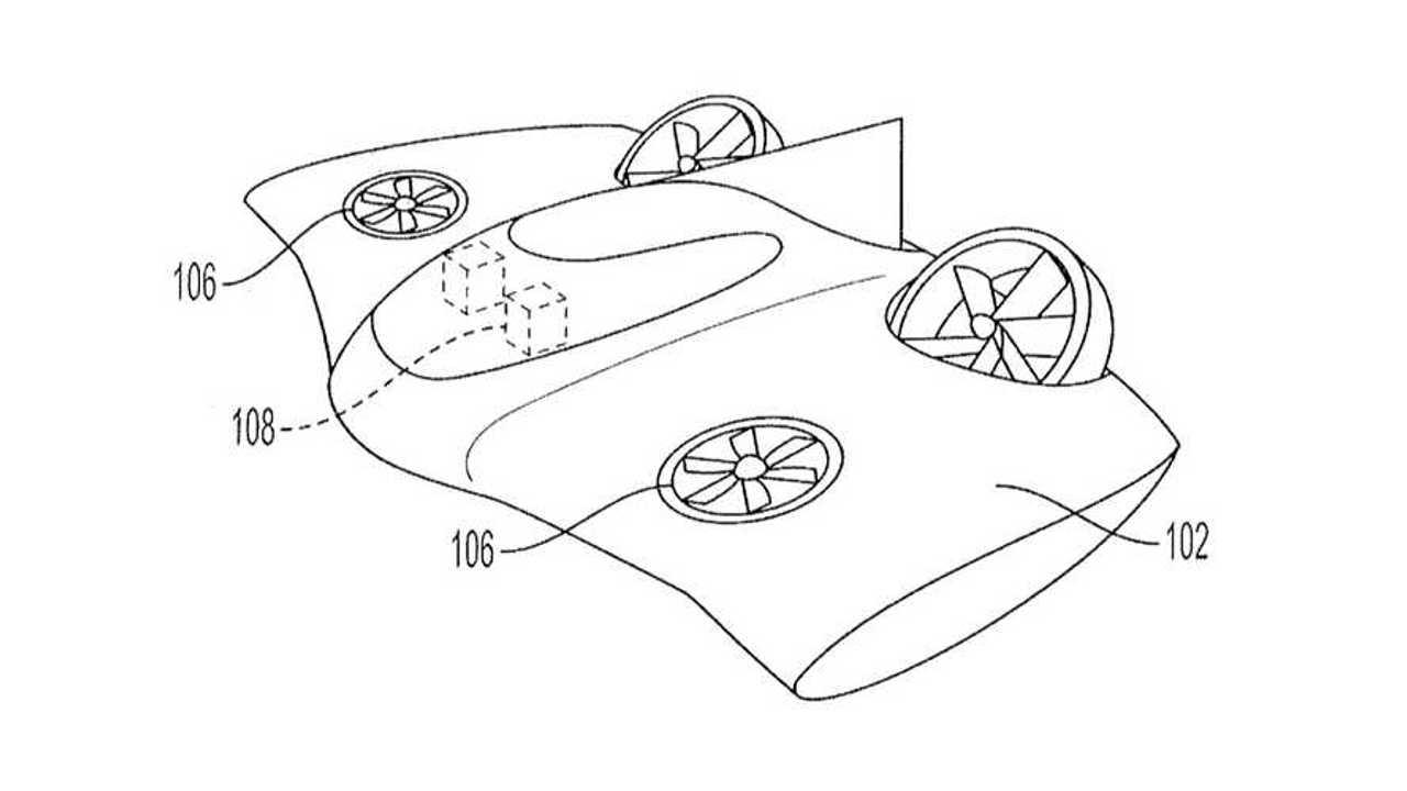 Porsche VTOL Patent