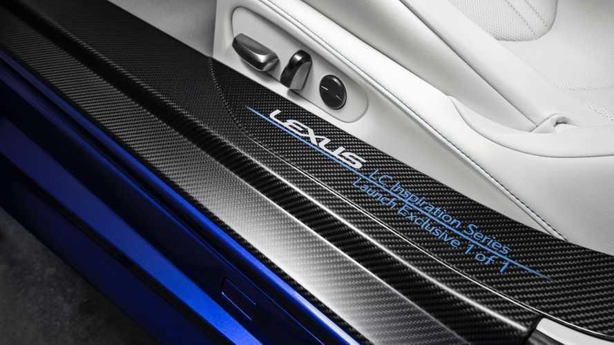 Lexus LC 500 Cabrio, subasta con fines benéficos