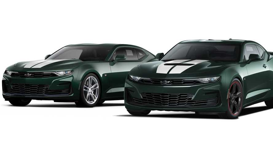 Chevy Camaro Heritage Edition Is A JDM Affair